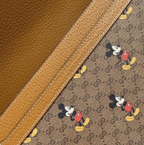 Bolsa Gucci Marmont Disney x Mickey Mini GG Supreme