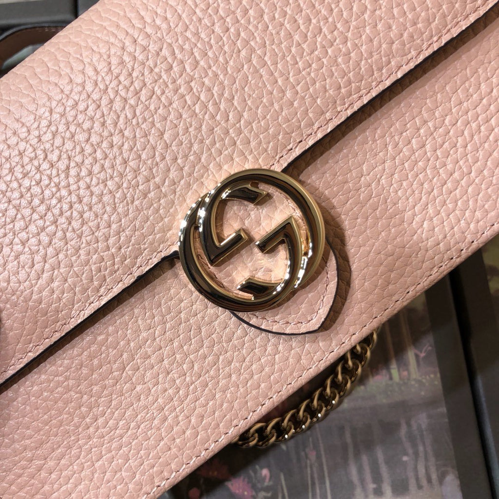 Bolsa Gucci Interlocking G Wallet on Chain