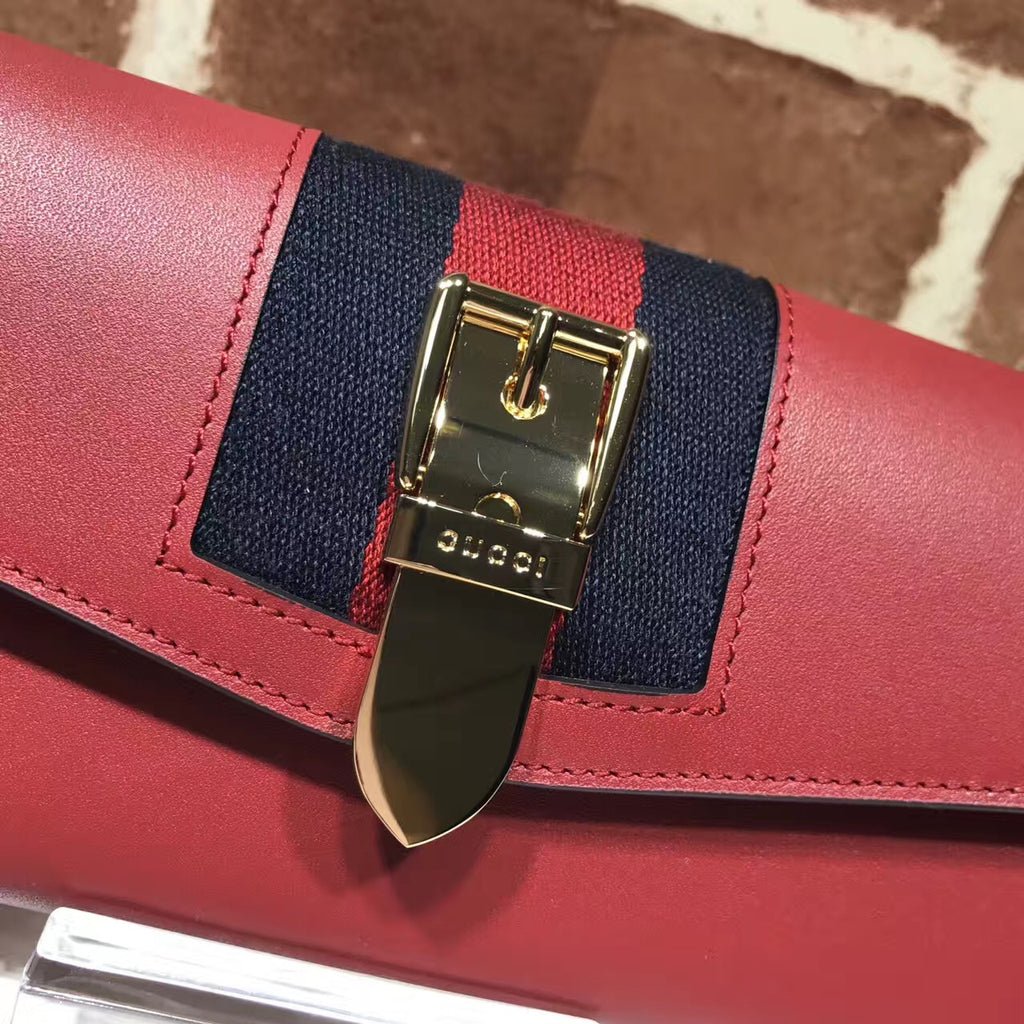 Carteira Gucci Sylvie Continental - Loja Must Have