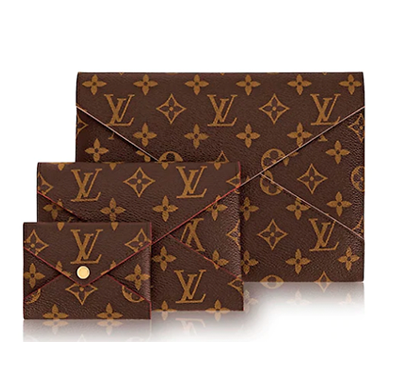Conjunto Clutch Kirigami Louis Vuitton - Loja Must Have