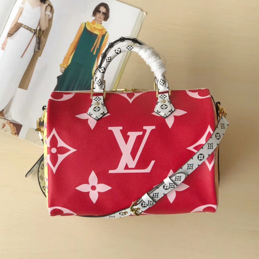 Bolsa Speedy Bandouliere 30 Monogram Giant Colors Louis Vuitton