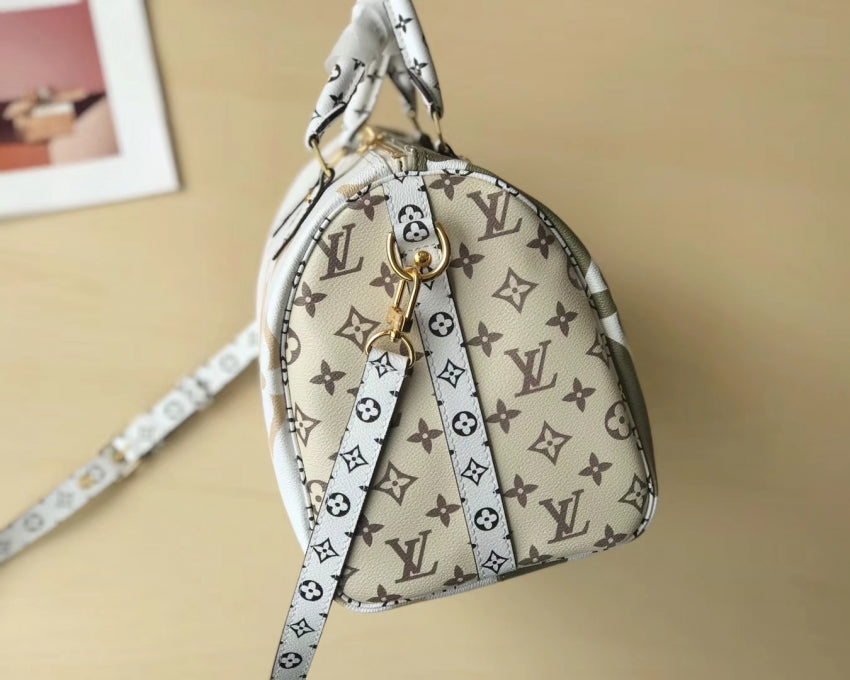 Bolsa Speedy Bandouliere 30 Monogram Giant Colors Louis Vuitton - Loja Must Have
