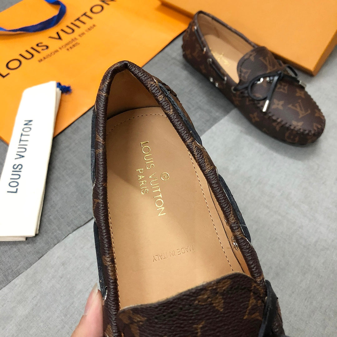 Loafer mocassim Gloria Monogram Louis Vuitton - Loja Must Have