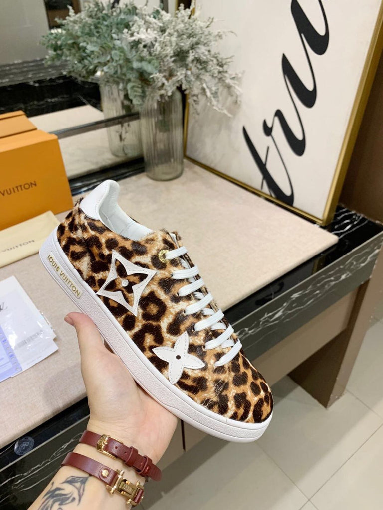 Tênis sneaker Louis Vuitton Front Row Onça Jungle Collection - Loja Must Have