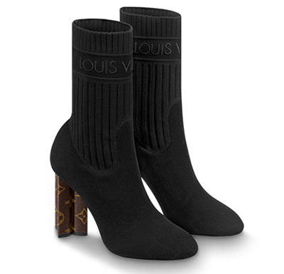 Bota Ankle Boot Louis Vuitton Silhouette II - Loja Must Have