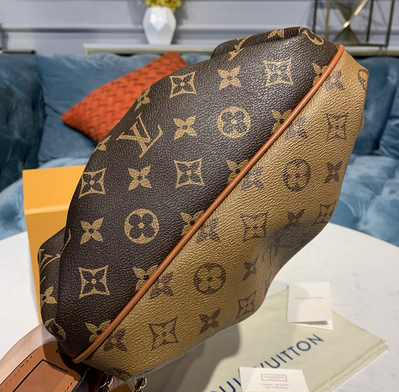 Bolsa Louis Vuitton Boursicot EW Monogram Reverse Brown