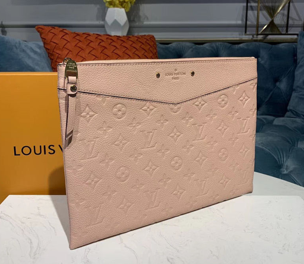 Louis Vuitton Necessaire Daily Pouch Empreinte - Loja Must Have