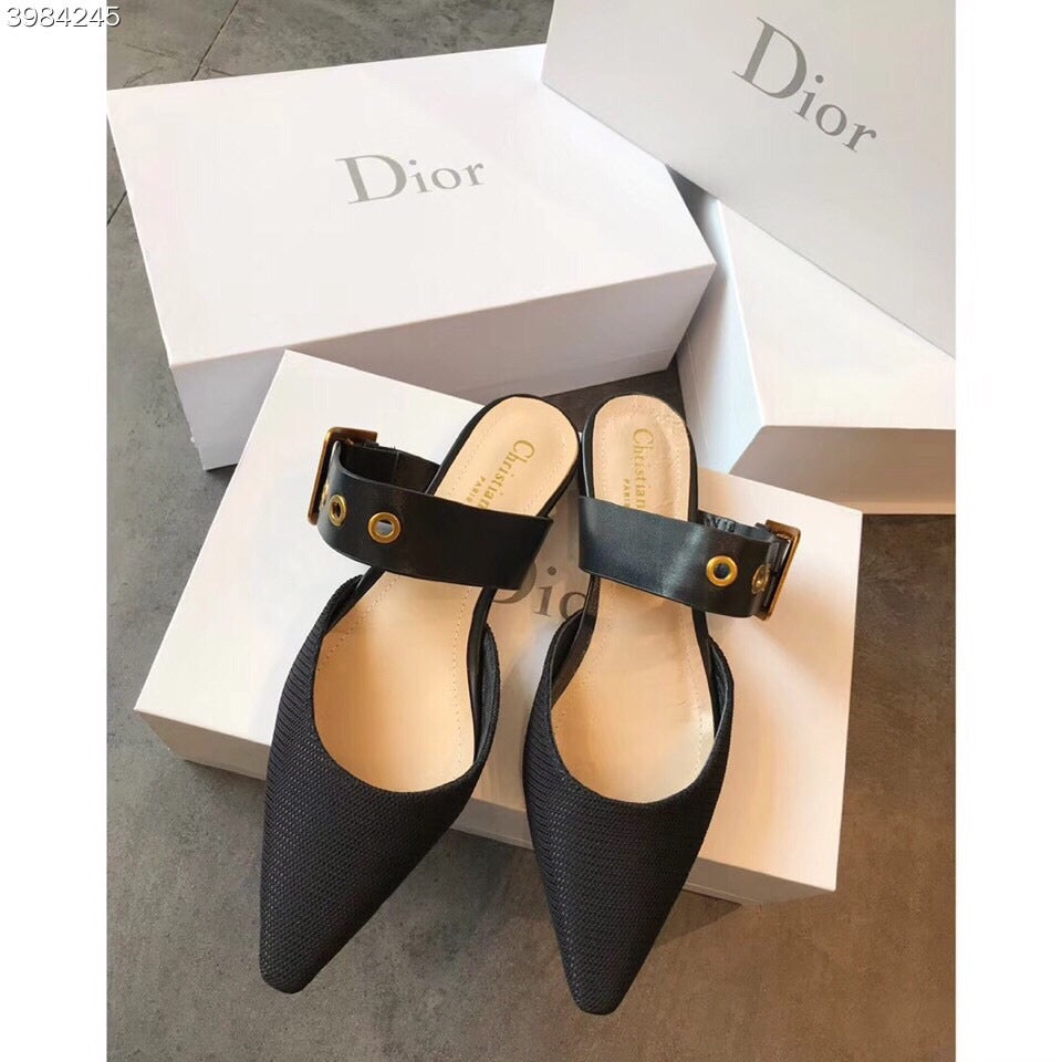 Mule D Dior Technical Canvas - Loja Must Have