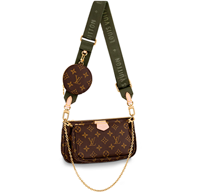 Multi Pochette Accessoires Monogram Louis Vuitton - Loja Must Have
