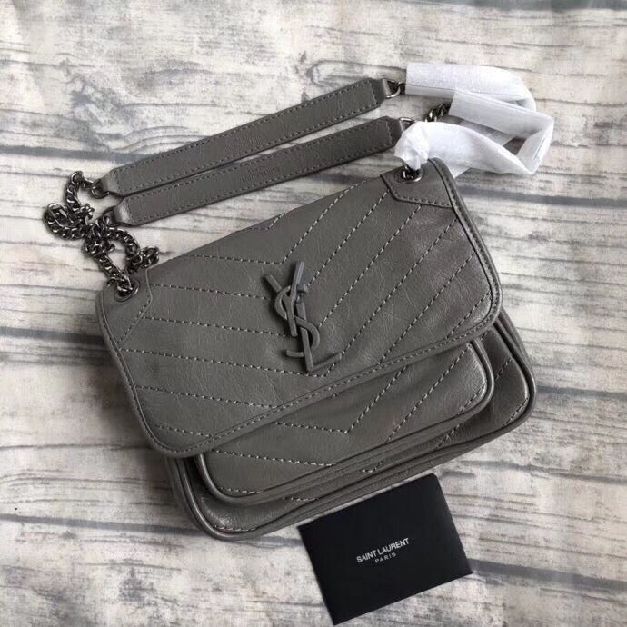 Bolsa tiracolo 'Niki Monogram' Saint Laurent YSL - Loja Must Have