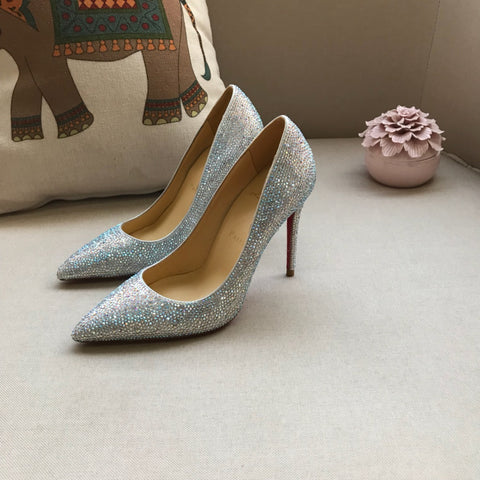 Scarpin Pigalle Louboutin Crystal