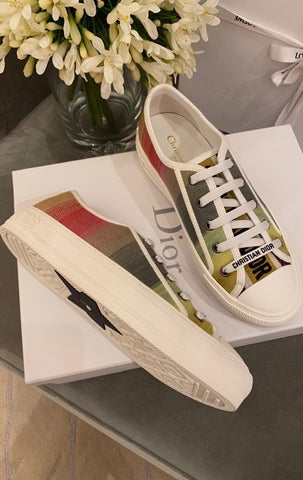 Tênis WALK'N'DIOR Rainbow Sneaker Christian Dior Dioraura Collection