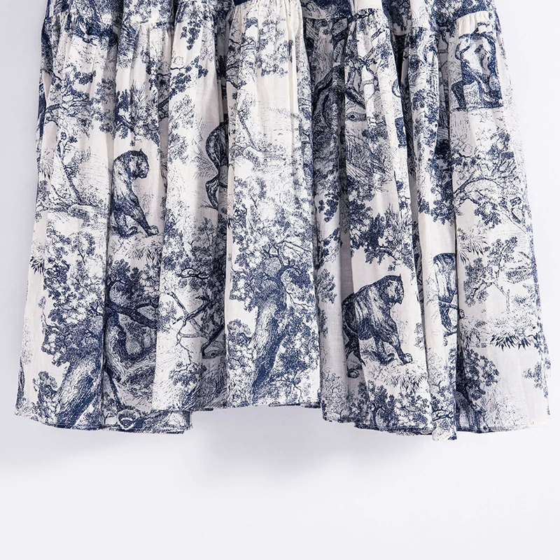 Saia Dior Toile de Jouy Inspired - Loja Must Have