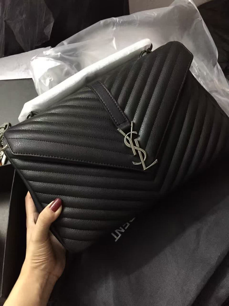 Bolsa Collège grande YSL Saint Laurent - Loja Must Have