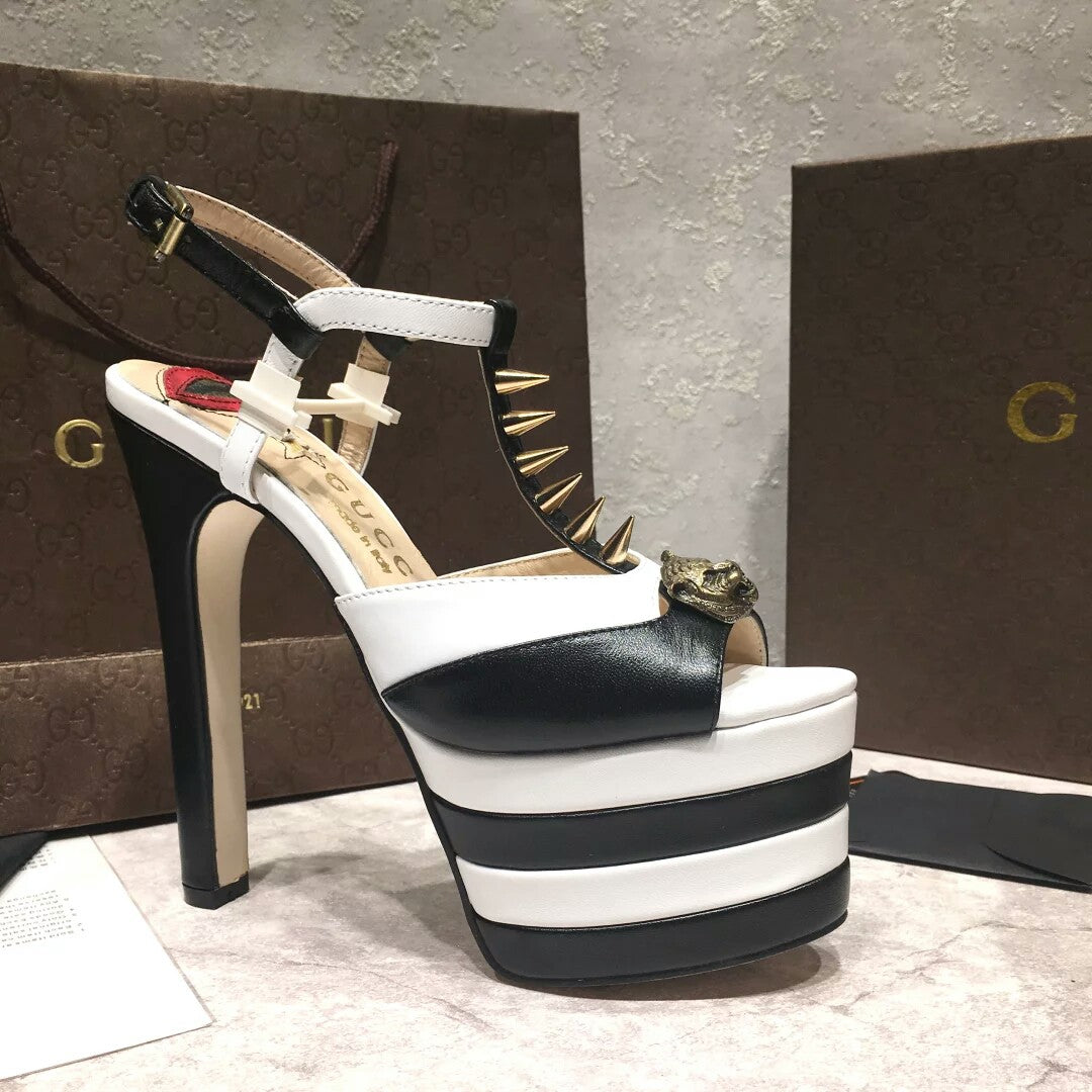 Sandália Pump Gucci Angel Studded - Loja Must Have