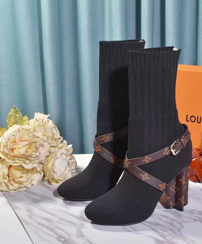 Bota  Ankle Boot Louis Vuitton Silhouette