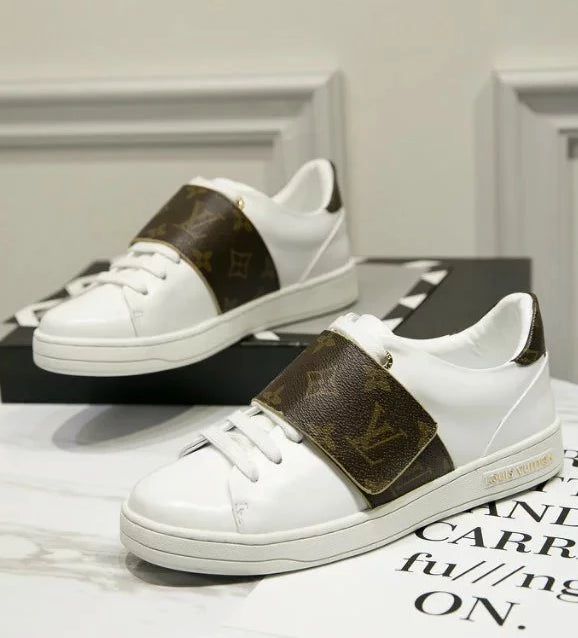 Tênis sneaker Front Row Monogram Louis Vuitton