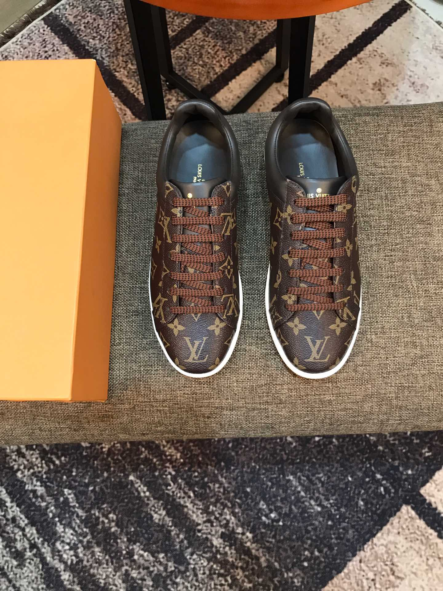 Tênis sneaker Luxembourg Louis Vuitton masc - Loja Must Have