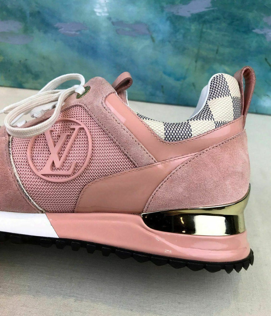 Tênis sneaker Run Away Damier Azur Louis Vuitton - Loja Must Have