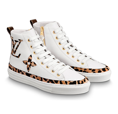 Tênis sneaker Louis Vuitton Stellar Jungle Collection - Loja Must Have