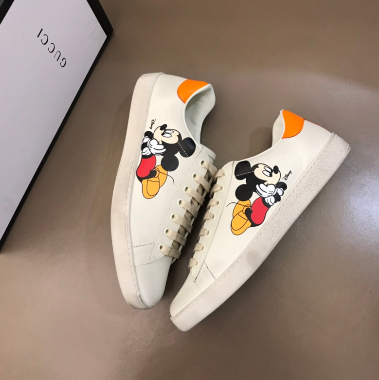 Sneaker tênis Mickey Mouse Gucci - Loja Must Have