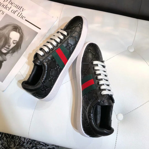 Tênis Gucci Ace Signature