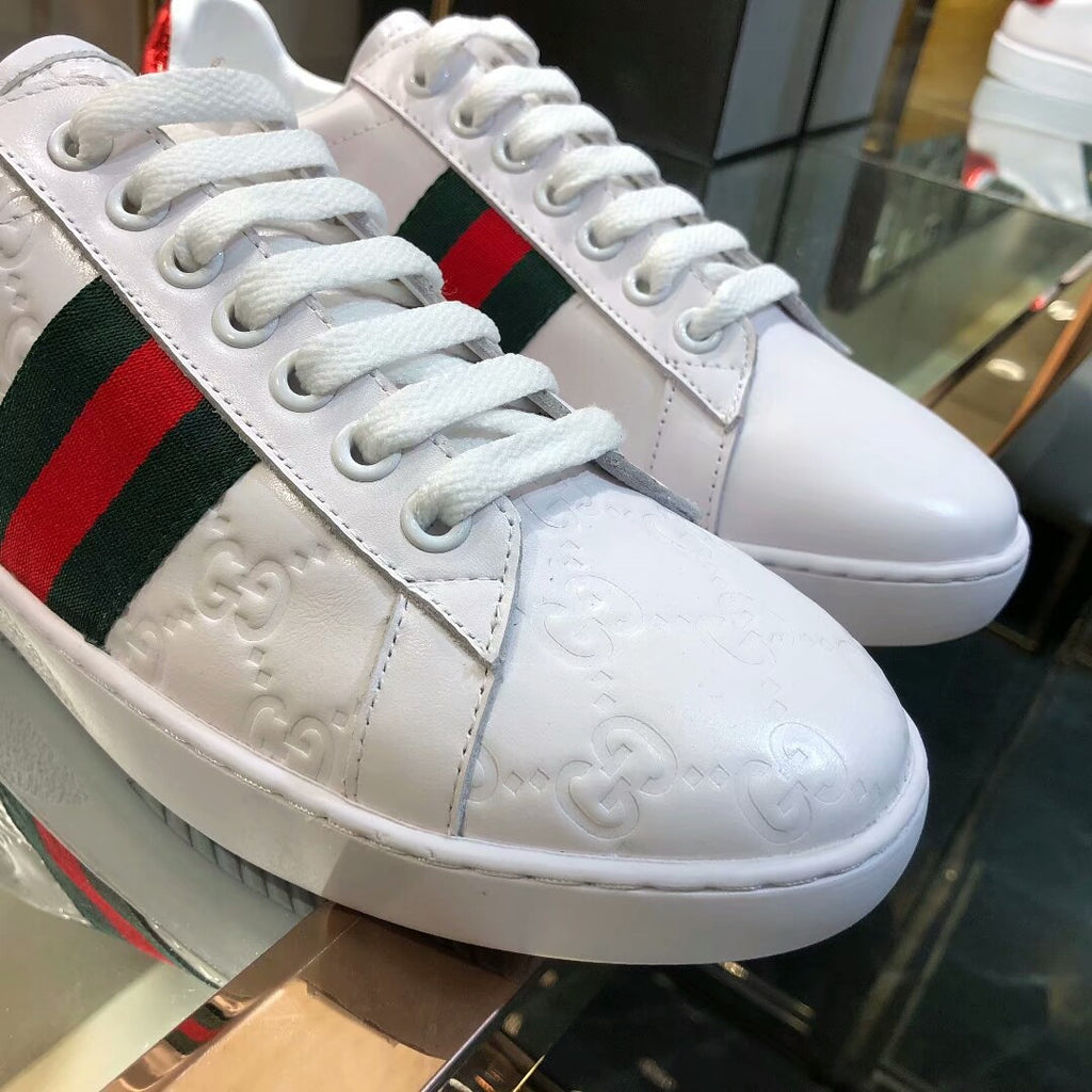 Tênis Gucci Ace Signature - Loja Must Have
