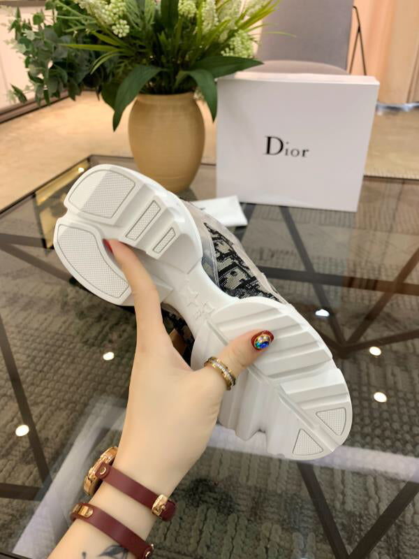 Tênis Sneaker Christian Dior D-Connect Kaleidiorscopic Monogram - Loja Must Have