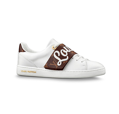 Tênis sneaker Front Row Logo Louis Vuitton - Loja Must Have