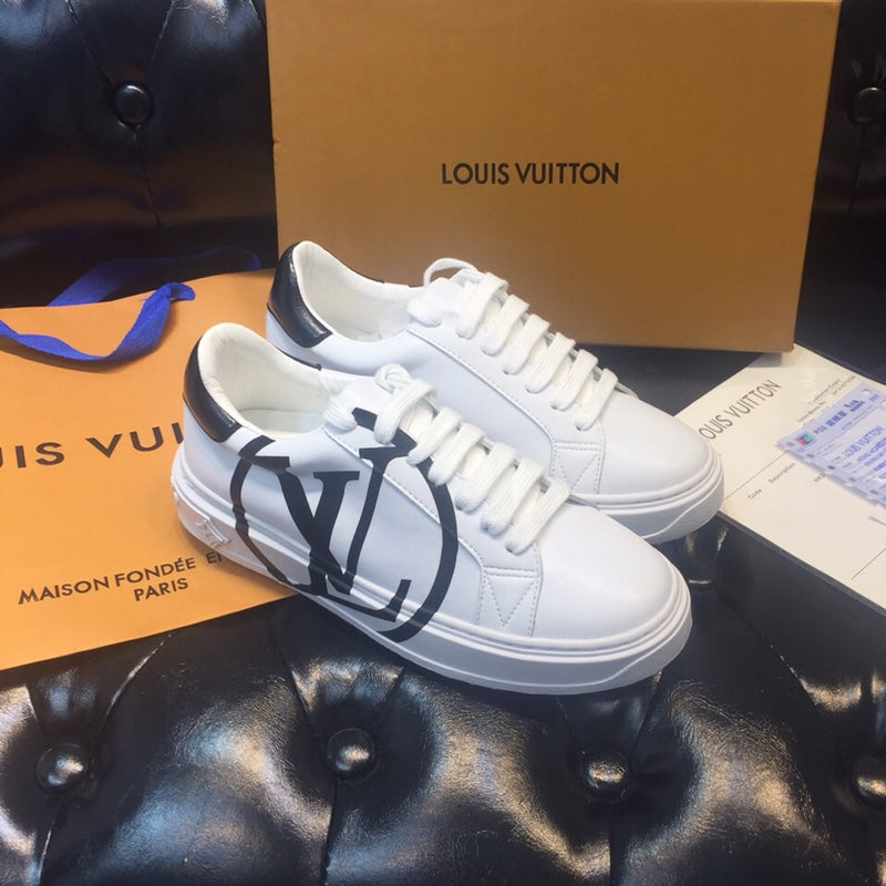 Tênis sneaker Time Out Logo Louis Vuitton - Loja Must Have