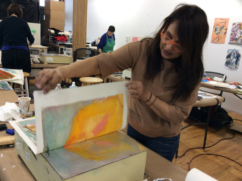 NAVIGATING THE HOTbox: Monotypes and Waxed Paper | Santa Fe | June 16-19, 2020