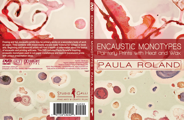 DVD: ENCAUSTIC MONOTYPES: Painterly Prints with Heat and Wax