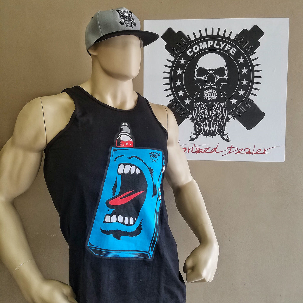 Mens Scream Box Tank