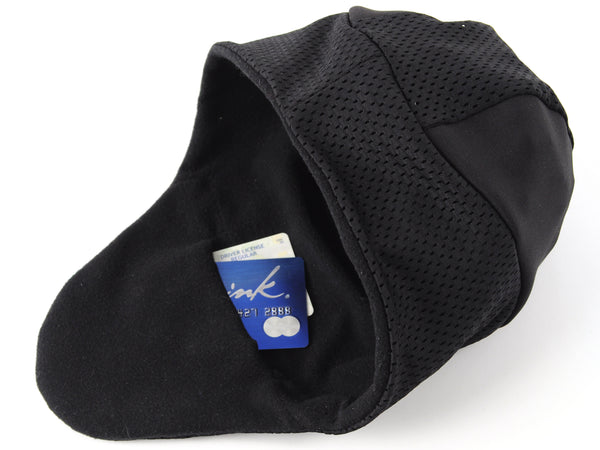helmet liner hat for winter cycling and winter running