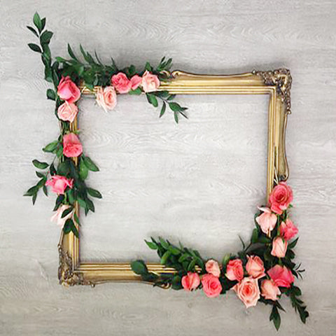 How to Create a Floral Frame