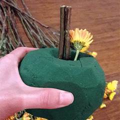 flower pumpkin tutorial, DIY guide