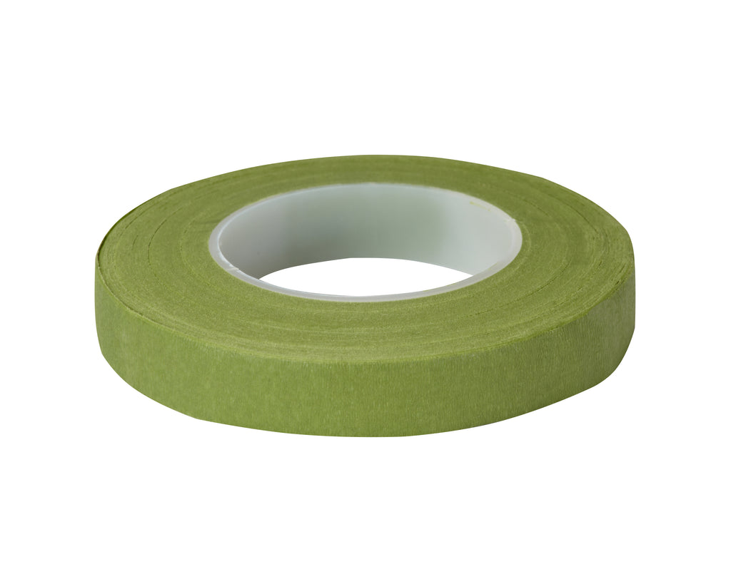 "1/2"" Stem Wrap, Light Green - 12/bx, 24bx/cs"