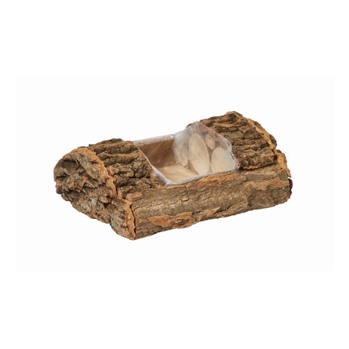 "OASIS Natural Bark 8"" Log 6/cs"