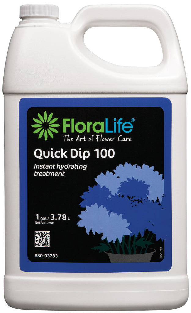 Floralife® Quick Dip 100 Instant hydrating treatment 1 gallon/ 6 cs