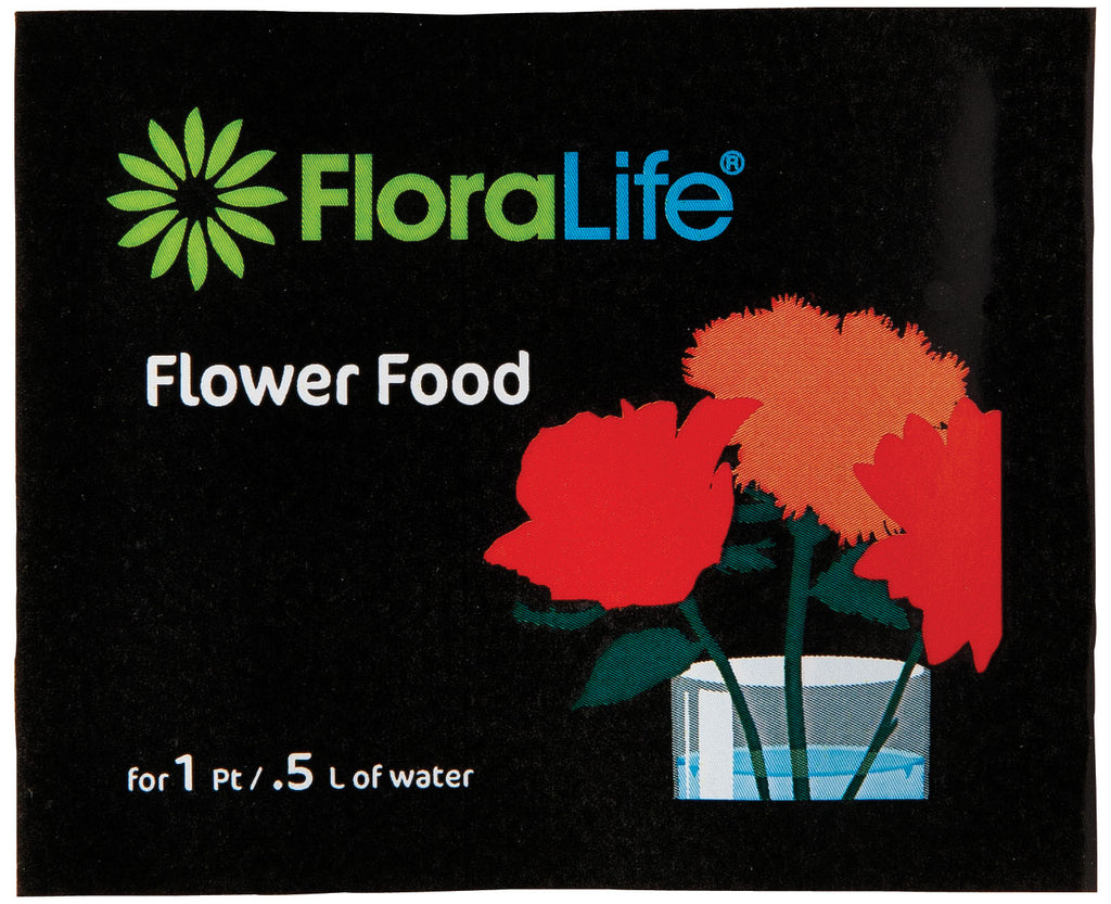 Flower Food 300, 1P/0.5L, 2000 powder sachets per case