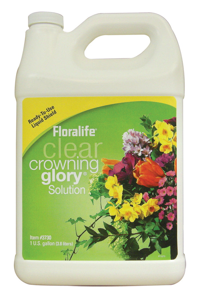 Crowning Glory Clear 1gal 6/CS Hydration and protection spray