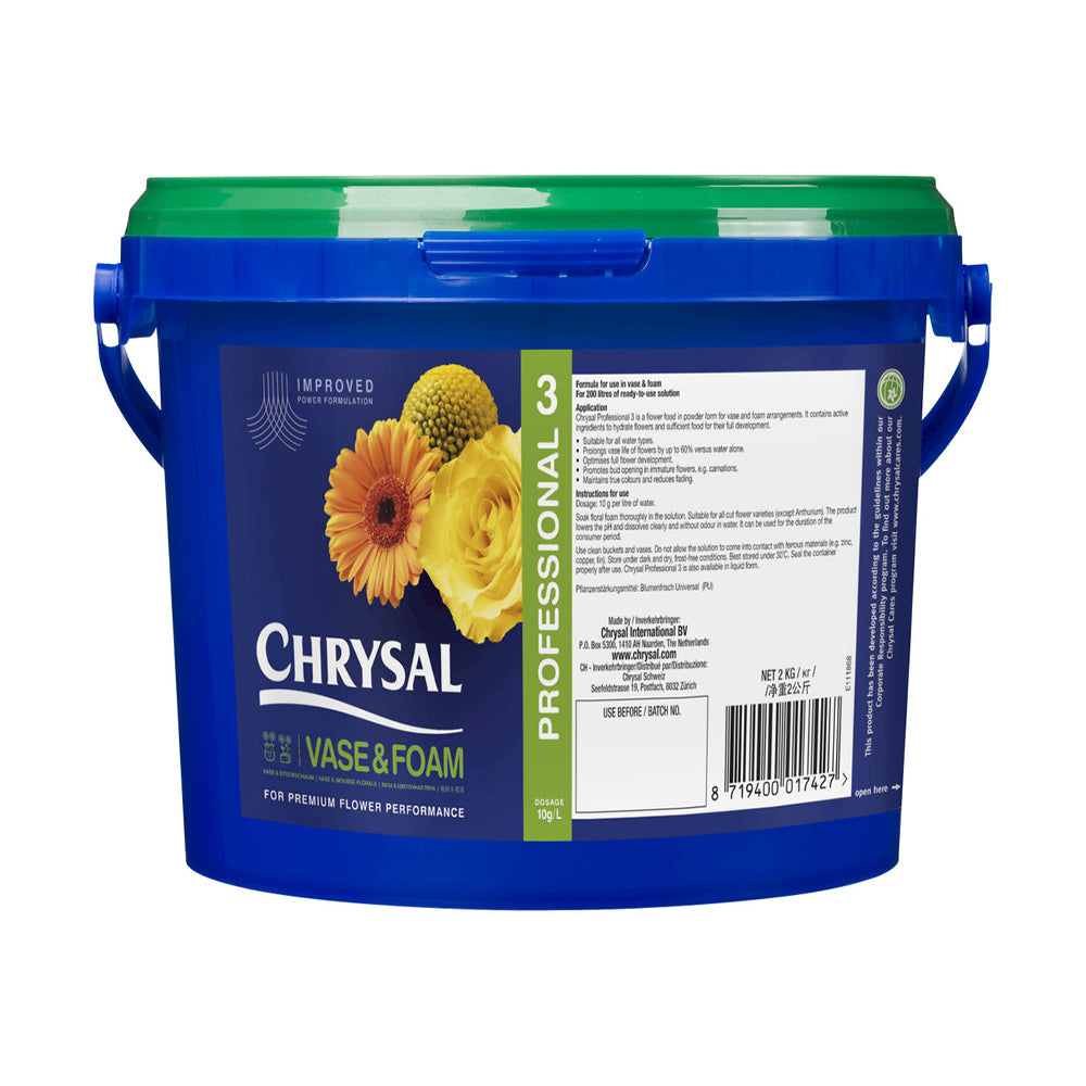 Chrysal Professional #3 Powder Vase Solution - 10 lb.
