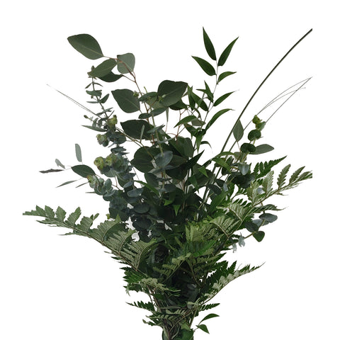 Bohemian Greens Bouquet