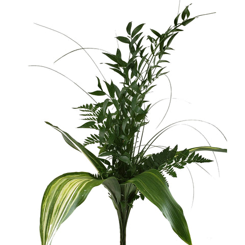 Pastorial Greens Bouquet