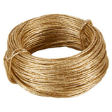 OASIS Bind Wire, Gold, 23-gauge 18 in. 69 ft. roll, 1 roll