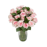 Shades Of Pink Rose Bouquet Deluxe