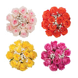 Dozen Roses Bouquet Assorted Colors - pack 18