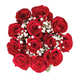 Dozen Roses Bouquet Red - pack 18