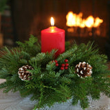 Christmas Classic Round Centerpiece
