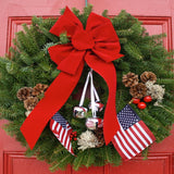 Christmas Let Freedom Ring Wreath